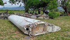 Nalezený úlomek křídla velmi pravděpodobně pochází z letu MH370