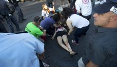 Muž s nožem zaútočil na pochod homosexuálů v Jeruzalémě. Zranil šest lidí