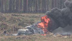 Při ruské letecké show spadl jeden z vrtulníků. Pilot na místě zahynul