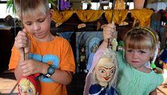 V litoměřické galerii loutek si mohou děti zahrát divadlo s marionetami