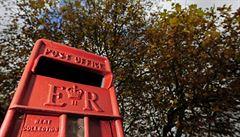 Britská pošta vyrazila do boje proti zlodějům typických červených schránek