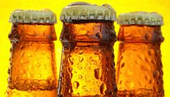 Zloději odzátkovali 1200 lahví s pivem. Sbírali soutěžní body