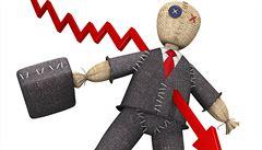 Osobních bankrotů přibývá, v dubnu jich bylo o třetinu víc než loni
