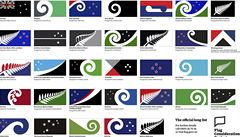Nový Zéland chce změnit vlajku, dorazilo přes 10 tisíc návrhů