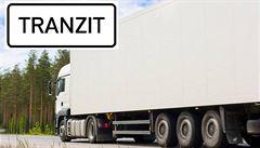 Tabulka 'Tranzit' má vyhnat kamiony ze zoufalých obcí. Už teď rozděluje starosty