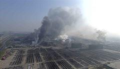 Čína po explozi v Tchien-ťinu začala zatýkat. Peking kontroluje výbušniny