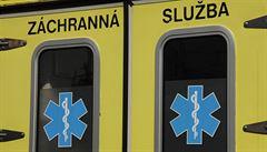 V Břevnově se srazil autobus s kamionem. Pět lidí bylo zraněno