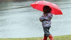 Déšť zvedl hladinu Labe v Krkonoších na třetí povodňový stupeň