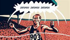 Tři zlata na olympiádě? V roce 1952 Zátopek běžel za kamaráda a o život