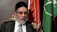 Egyptský soud již podruhé udělil vůdci muslimského bratrstva trest smrti
