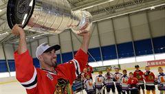 Nejcennější trofej vítaly tisíce lidí. Michal Rozsíval přivezl Stanley Cup