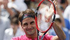Federer vyhrál posedmé v kariéře turnaj v Cincinnati, Djokovič opět selhal