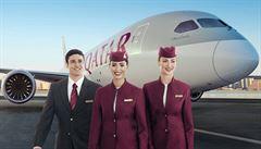 Katařané rychle mění letadlo za větší. O linku Praha-Dauhá je nečekaný zájem