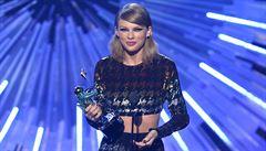 Ceny hudební televize MTV ovládla Taylor Swiftová. Získala tři ceny