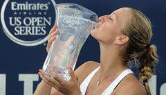 Kvitová obhájila titul v New Havenu, ve finále porazila kamarádku Šafářovou