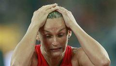 Komplikace před olympiádou: Špotáková si při tenise zlomila zánártní kost