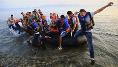 Syřanka, která dotlačila člun do Řecka, poplave v Riu za uprchlický tým