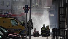 V pražských Dejvicích hořel ze zatím neznámého důvodu plyn. Nikdo nebyl zraněn