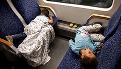Do Vídně dorazilo v pondělí na 3650 uprchlíků. Většina pokračuje do Německa