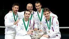 Čeští tenisté vykročí za obhajobou Davisova poháru v Ostravě