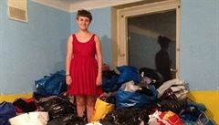 Sbírka pro uprchlíky? 'Nedošlo nám, že jsou drobnější a oblečení jim bude velké'