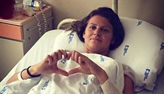 Šafářová byla po týdnu v nemocnici propuštěna domů: Těším se zpět na kurty