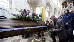Lidé se v kostele Nejsvětějšího Salvátora rozloučili s Radimem Paloušem