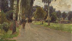 Obraz malíře Carla Molla se v Praze vydražil za 4,8 milionu korun