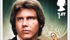 Harrison Ford na královských známkách. V Británii chystají známky s motivy Star Wars