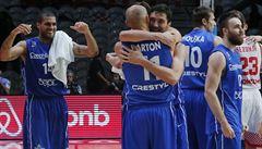 Basketbalisté se o olympiádu poperou v Bělehradě. Vyzvou Japonsko či Lotyšsko
