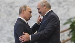 Kauza Navalnyj je podvod, má držet Putina od Běloruska, říká Lukašenko