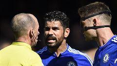 Provokatér Costa opět budil emoce. Neměl dohrát, štvalo Wengera