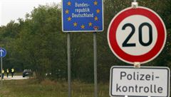 Německá policie kvůli pašerákům lidí zavedla kontroly hranic s Českem