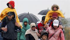 Policie zřídila schromaždiště pro uprchlíky. Sloužit má k vyřizování azylu