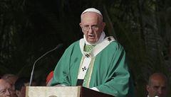 Papež František se po první mši na Kubě stavil u Fidela Castra