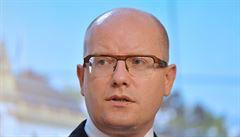 Sobotka: Česko by se mohlo stát centrem Evropy čínských finančních institucí