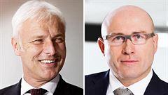 Volkswagen bude řídit Müller, Škodu převezme bývalý automechanik Maier. Oba přišli z Porsche