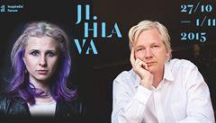 S Julianem Assangem máme hodně společného, tvrdí Máša z Pussy Riot. Oba míří i do Jihlavy