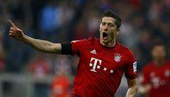 One man show. Famózní Lewandowski nastřílel pět gólů za devět minut