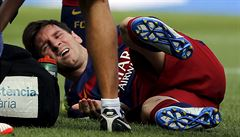 Španělská 'jatka'. Messimu v souboji o první místo málem zlomili nohu