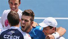 Los českým tenistům přál. Využijí toho k úspěšné baráži v Nizozemí?