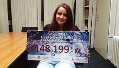 Před rokem pokořila Gibraltar, nyní studentka vybrala 150 tisíc pro vozíčkáře