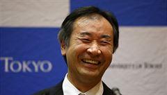 Nobelovu cenu za fyziku obdrželi Takaaki Kadžita a Arthur McDonald. Dokázali, že neutrino má hmotu