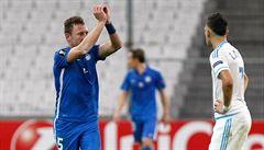 Kluci z Marseille po zápase vypadali, že se zastřelí, smál se střelec Coufal