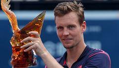 Berdych získal svůj první letošní titul, v Šen-čenu zdolal Garcíu-Lópeze