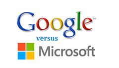 Google vítězí v souboji gigantů. Poprvé předběhl Microsoft