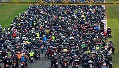 Tragicky zemřelého Simoncelliho si v Brně připomnělo 3656 motorkářů