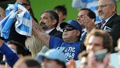 Irsko je jistým čtvrtfinalistou MS, ragbisty Argentiny tlačí k postupu Maradona