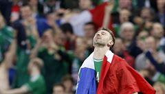 Severní Irsko se poprvé v historii podívá na Euro. Němci překvapivě padli