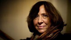 Nobelovu cenu za literaturu získala běloruská autorka Alexijevičová